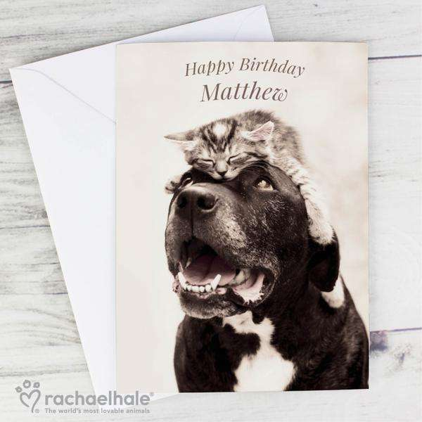 Personalised Rachael Hale Puurfect Pair Card from Pukkagifts.uk
