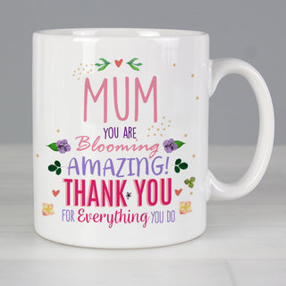 Personalised You Are Blooming Amazing Mug
