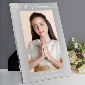 Personalised First Holy Communion Photo Frame 5x7 Portrait
