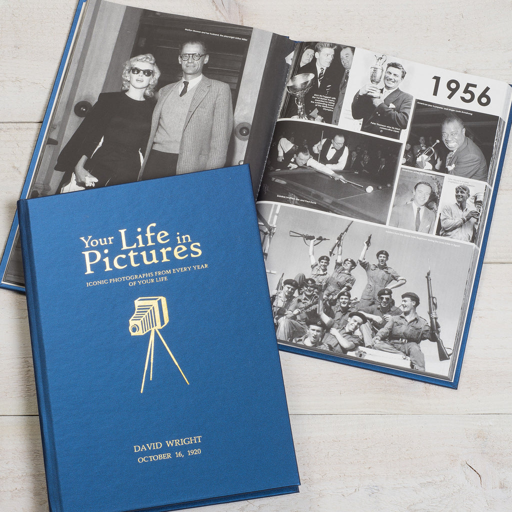 Personalised Your Life In Pictures Book from Pukkagifts.uk
