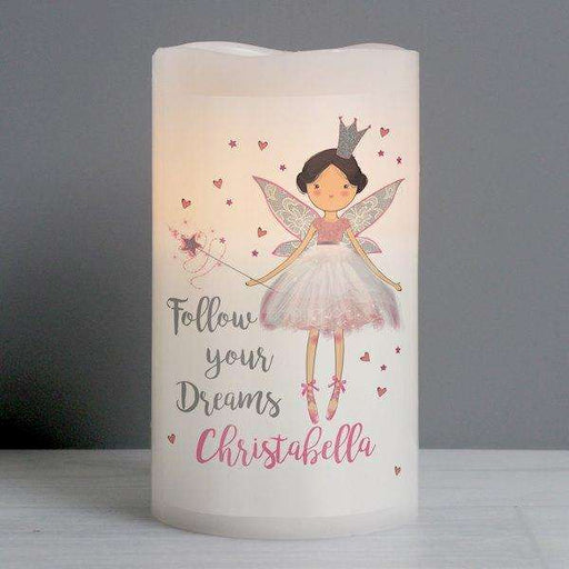 Personalised Fairy Princess Nightlight LED Candle from Pukkagifts.uk