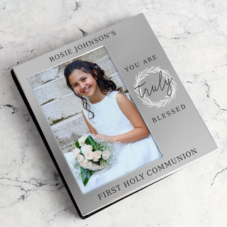 Personalised You Are Truly Blessed Photo Frame Album 6x4