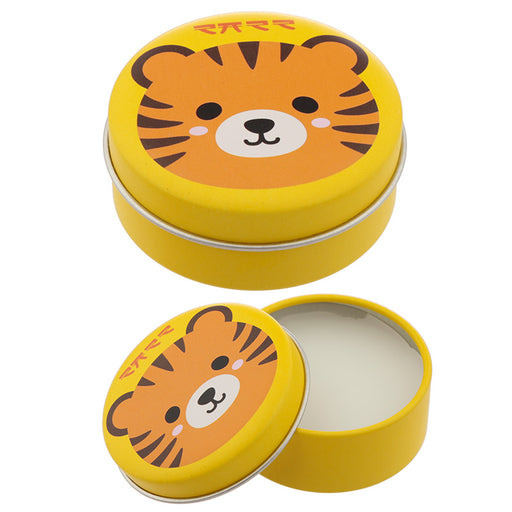 Tiger Lip Balm in a Tin - Orange