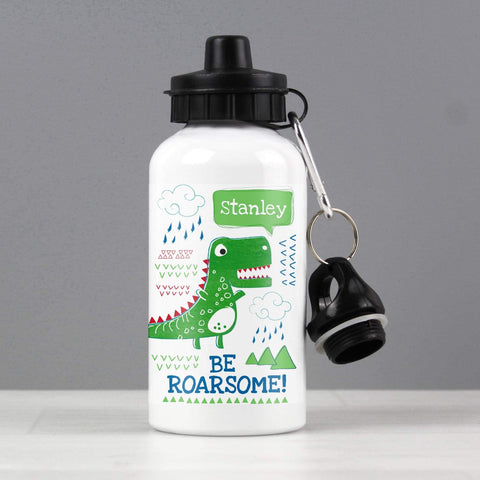 Personalised Be Roarsome Dinosaur Drinks Bottle