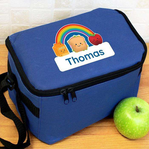Personalised Boys Healthy Eating Lunch Bag from Pukkagifts.uk