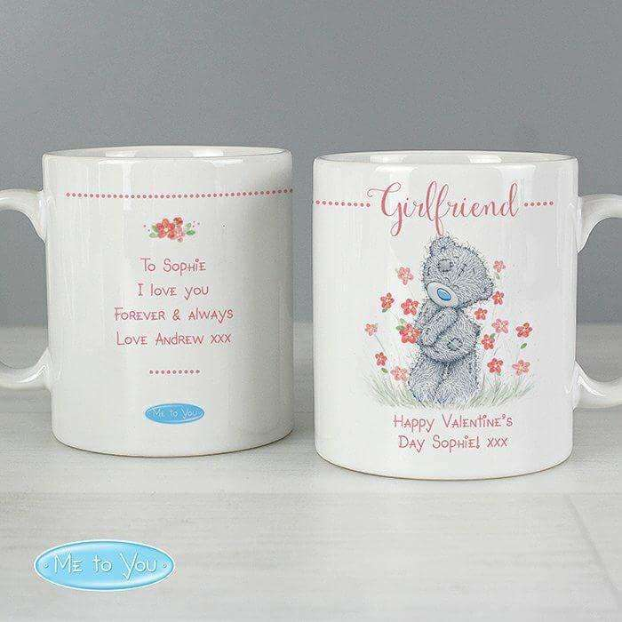 Personalised Me to You Floral Mug from Pukkagifts.uk
