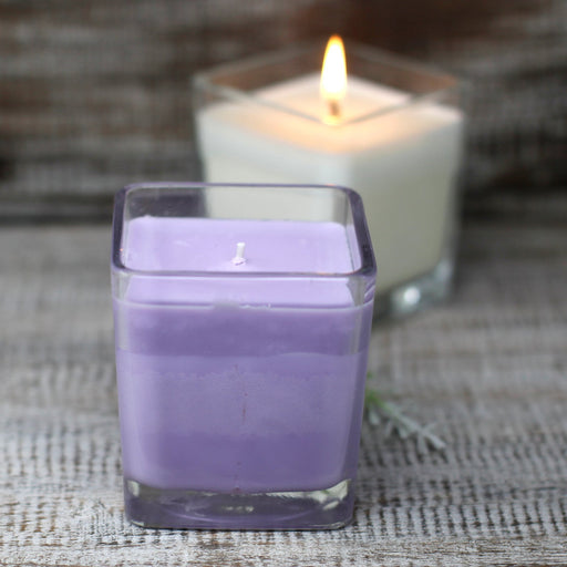 Scented Soy Wax Jar Candle - Lavender & Basil