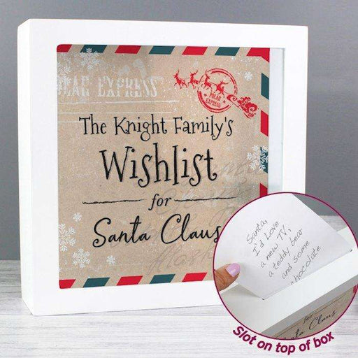 Personalised Wishes, Lists and Letters for Santa Keepsake Box from Pukkagifts.uk