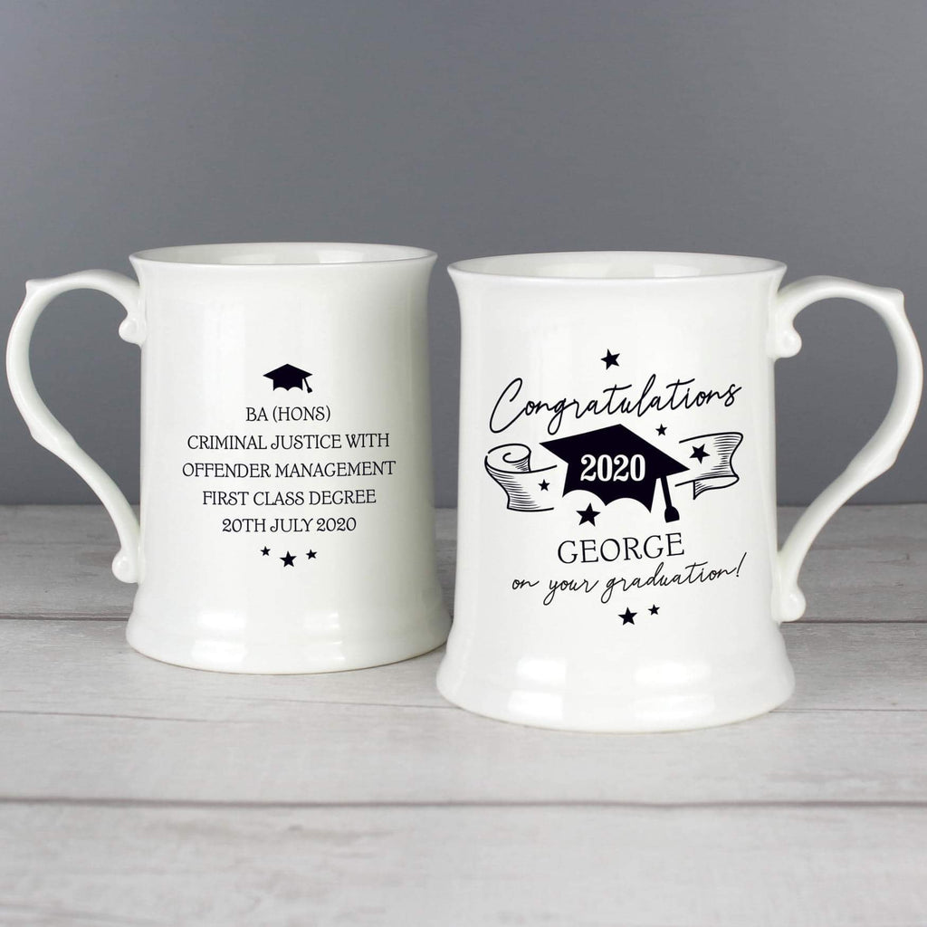 Personalised Graduation 15oz Mug from Pukkagifts.uk