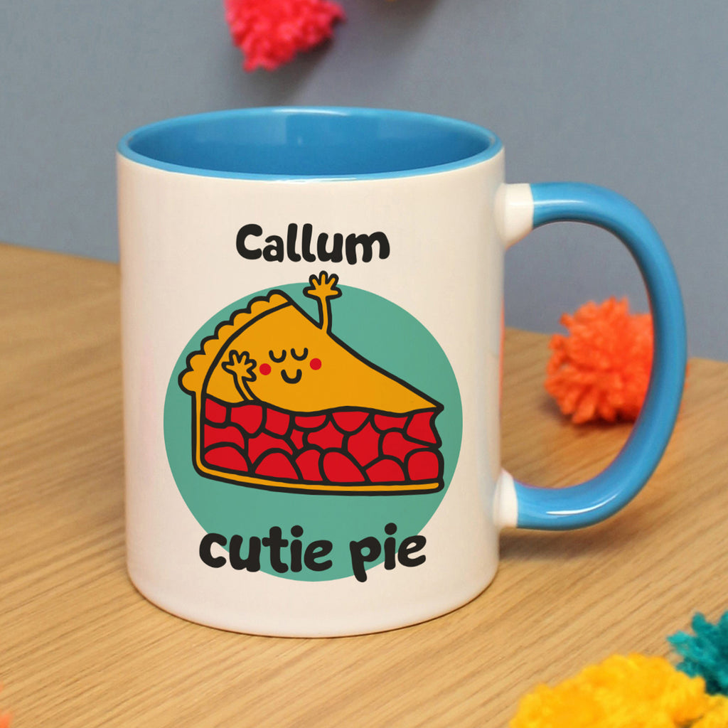 Personalised Flossy and Jim Cutie Pie Mug