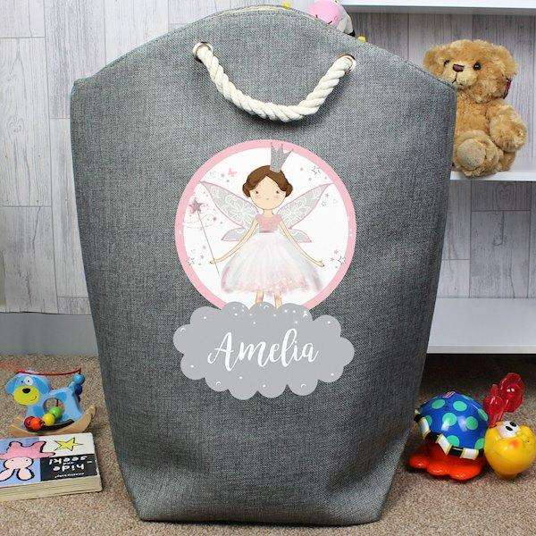 Personalised Fairy Princess Storage Bag from Pukkagifts.uk