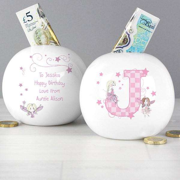 Personalised Fairy Letter Money Box from Pukkagifts.uk
