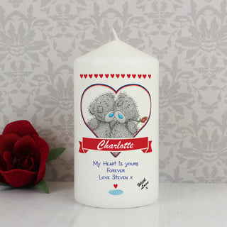 Personalised Me to You Couples Candle