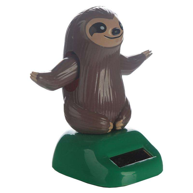 Sloth Solar Powered Dashboard Toy from Pukkagifts.uk