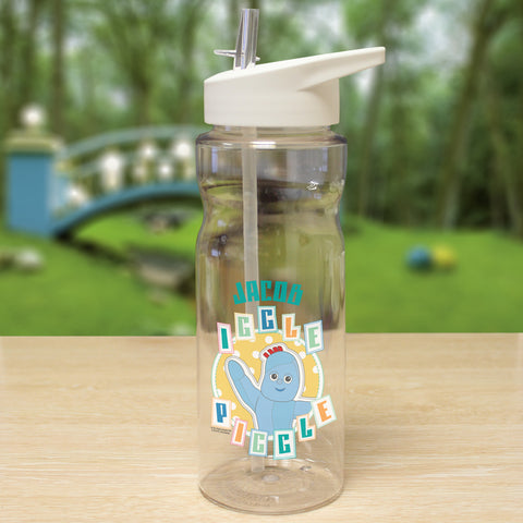 Personalised Iggle Piggle Plastic Water Bottle