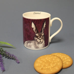 Personalised Watership Down General Woundwort Chunky Balmoral Mug from Pukkagifts.uk