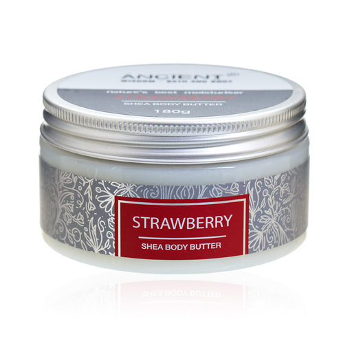 Shea Body Butter 180g - Strawberry
