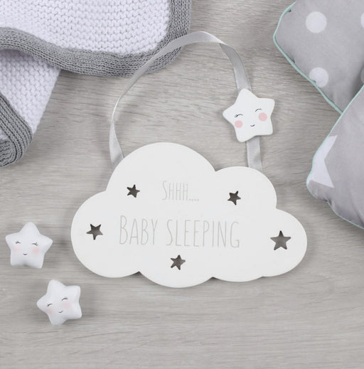 Shhh Baby Sleeping Hanging Decoration