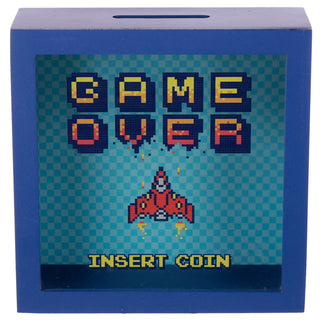 Retro Gaming Game Over Money Fund Box