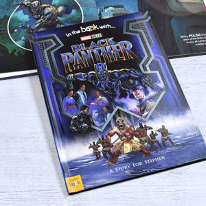 Personalised Marvel's Black Panther Book from Pukkagifts.uk