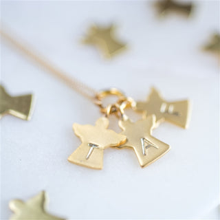 Personalised Mummy's Little Angels Necklace from Pukkagifts.uk