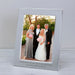 "Personalised Engraved Any Message Silver Photo Frame 6x4"" Or 5x7"""