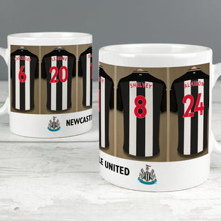 Personalised Newcastle United Football Club Dressing Room Mug