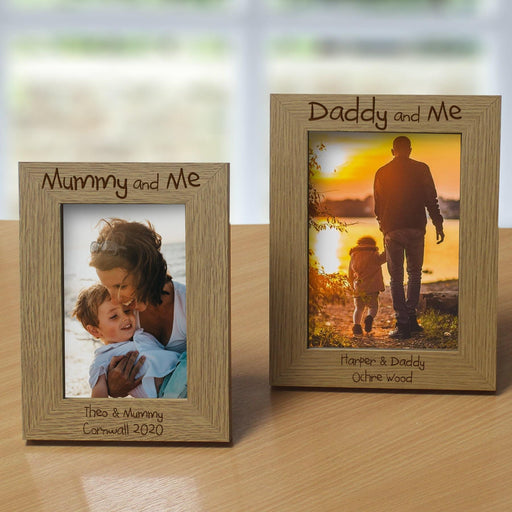 Personalised Name & Me Wooden Photo Frame 6×4