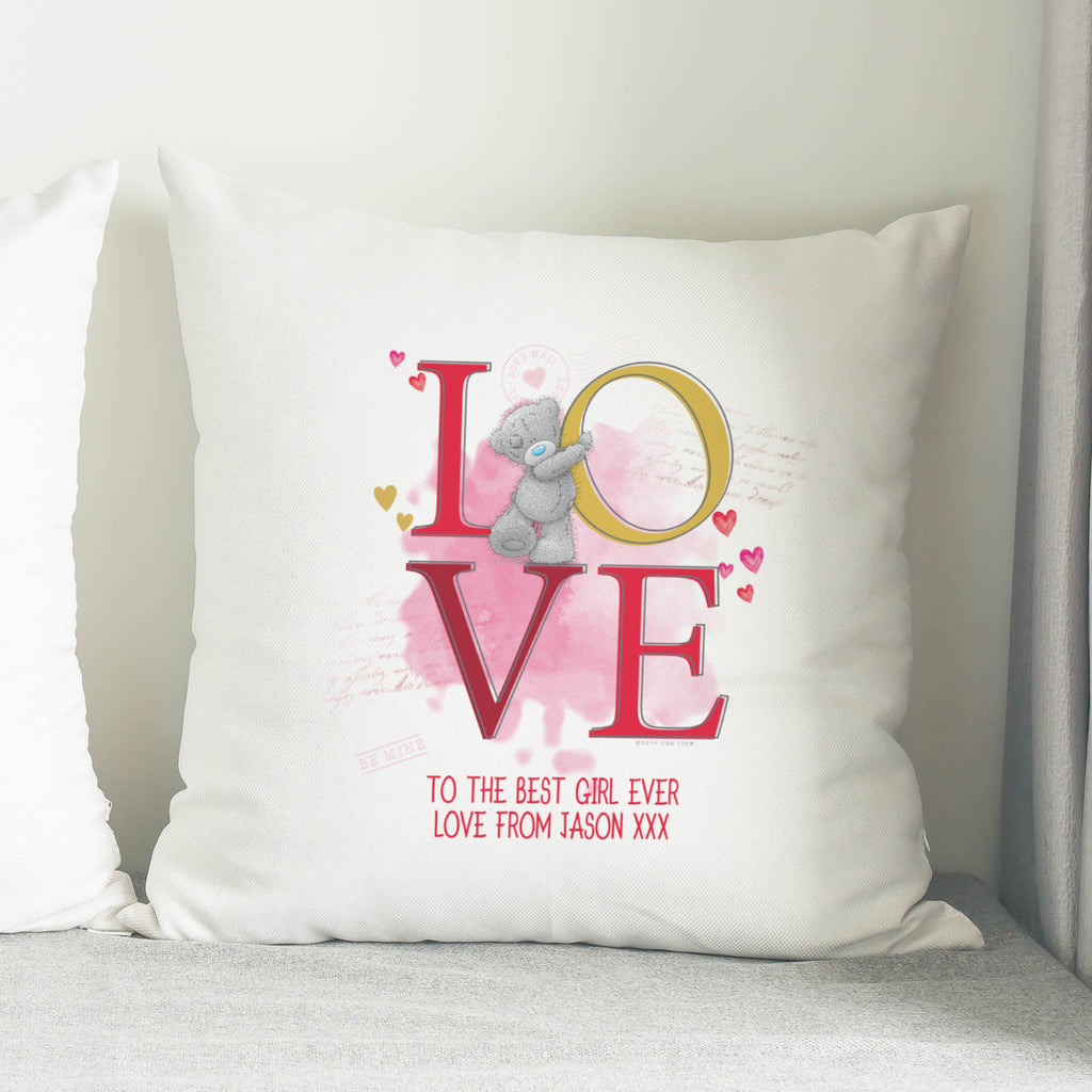 Personalised Me To You LOVE Cushion