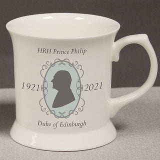 Commemorative HRH Prince Philip Bone China Tankard
