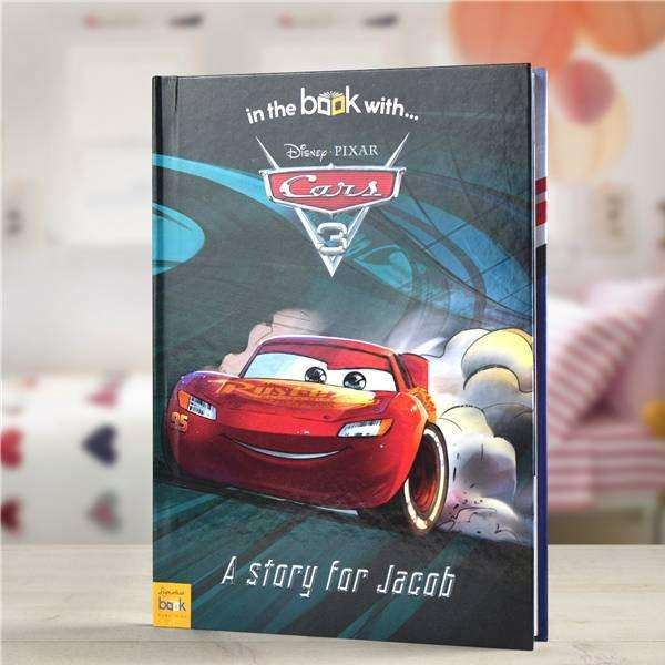 Personalised Disney Cars 3 Story Book from Pukkagifts.uk