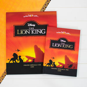 Personalised Lion King Premium Book from Pukkagifts.uk