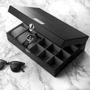Personalised Watch & Cufflinks Box from Pukkagifts.uk