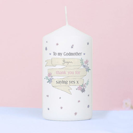 Personalised Garden Bloom Candle from Pukkagifts.uk