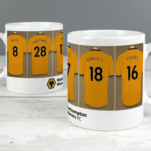 Personalised Wolverhampton Football Club Dressing Room Mug
