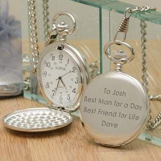 Personalised Pocket Watch - Pukka Gifts