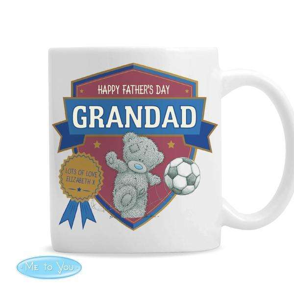 Personalised Me to You Football Mug from Pukkagifts.uk