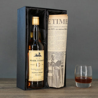 Personalised Single Malt Whisky & Newspaper
