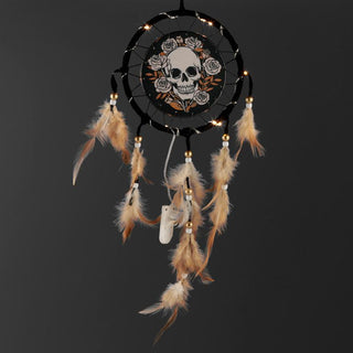 Skulls & Roses Design Dreamcatcher