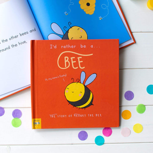 Personalised I'd Rather Be A Bee Story Book