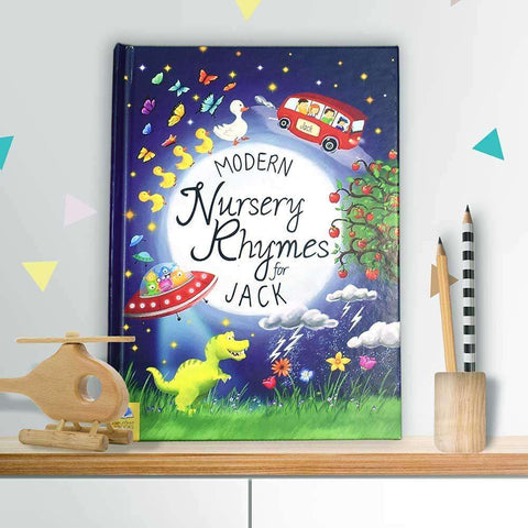 Personalised Modern Nursery Rhymes Book,Pukka Gifts
