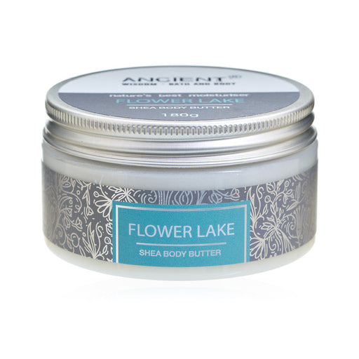 Shea Body Butter 180g - Flower Lake