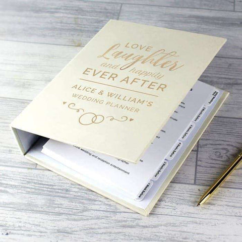 Personalised Happily Ever After Wedding Planner,Pukka Gifts