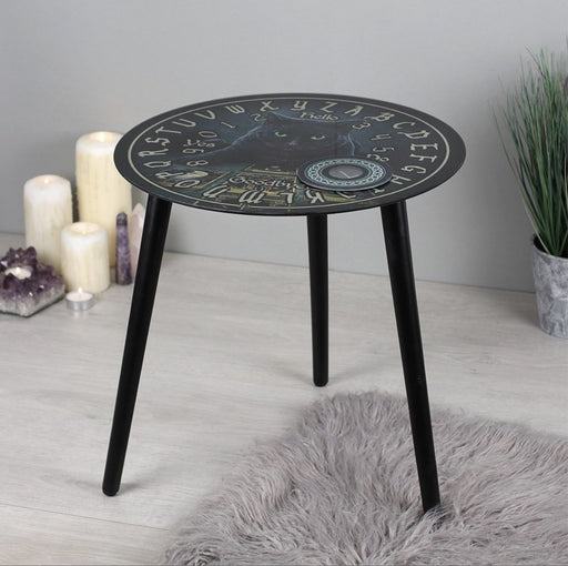 The Reader Glass Spirit Board Table by Lisa Parker