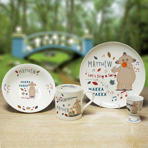 Personalised Musical Makka Pakka In The Night Garden Breakfast Set