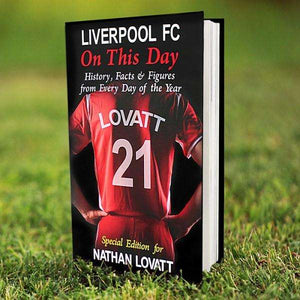 Personalised Liverpool On This Day Book from Pukkagifts.uk