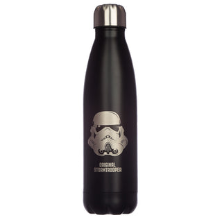 Black The Original Stormtrooper Stainless Steel Insulated Drinks Bottle