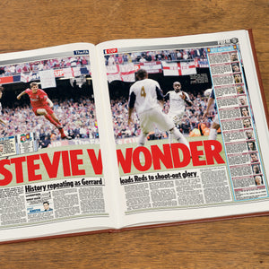 Personalised Football Newspaper Book - Free UK Delivery