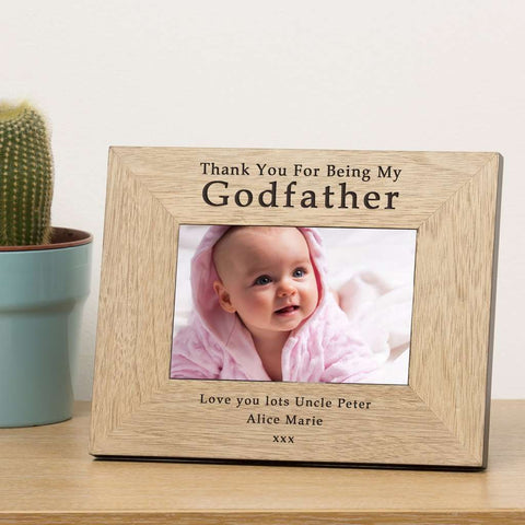 Thank You For Being My Godfather Photo Frame,Pukka Gifts