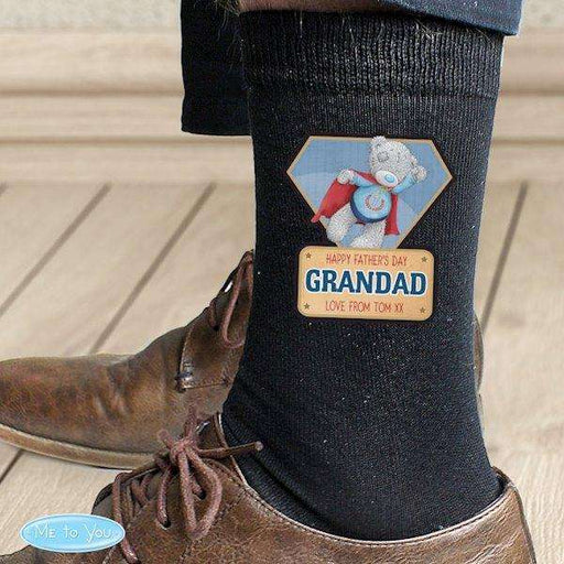 Personalised Me To You Super Hero Mens Socks from Pukkagifts.uk